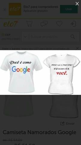 a2a4e9e6b2 Camisas personalizadas para o dia dos namorandos liga 991844026 Leia abaixo