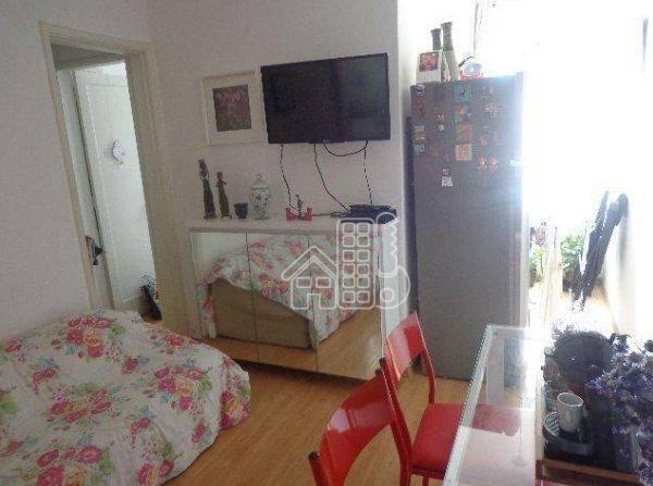 Apartamento com 1 dormitório à venda, 50 m² por R$ 302.100,00 - Icaraí - Niterói/RJ - Foto 4