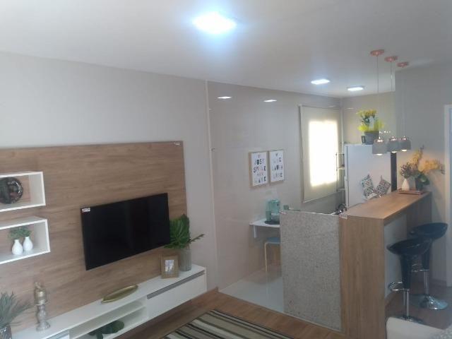 2 quartos com varanda ao lado da Niely - Monte Castelo - Foto 5