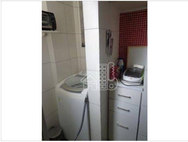 Apartamento com 1 dormitório à venda, 50 m² por R$ 302.100,00 - Icaraí - Niterói/RJ - Foto 12