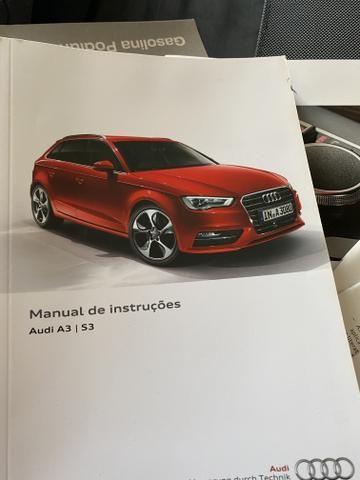 Audi A3 1.4 top de verdade super econômico VERMELHO FERRARI desconto de R$ 6.900 - Foto 14