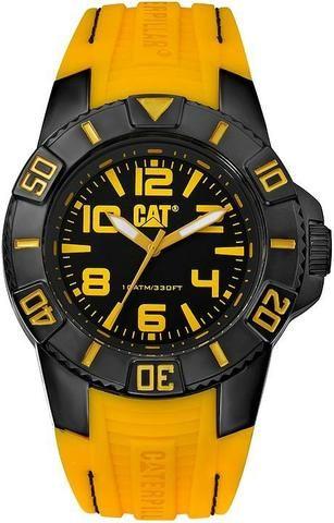 f04b06d4132 Relógio Caterpillar Bondi preto pulseira de silicone - Bijouterias ...