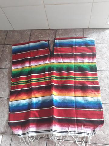 Poncho mexicano - Bijouterias 2f073b5c52e
