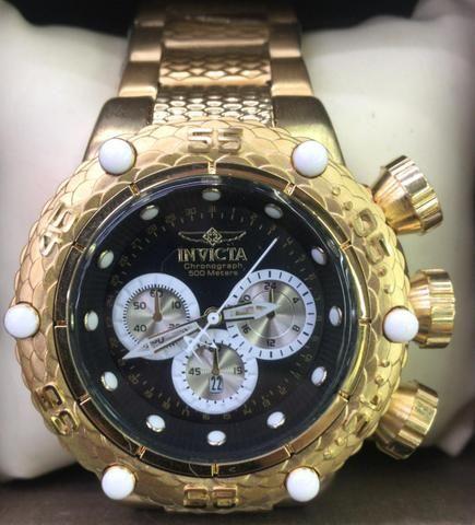 a29092777d2 Relógio Invicta Zeus a prova d Água e todo funcional - Bijouterias ...