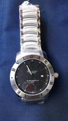 4d00e65a2b4 Relógio Bvlgari Prata Automático - Bijouterias