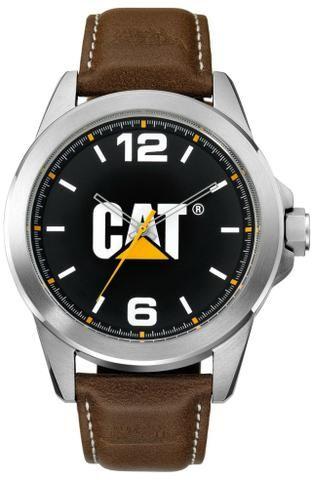efd2cb4265f Relógio Caterpillar Ícone pulseira de couro marrom - Bijouterias ...
