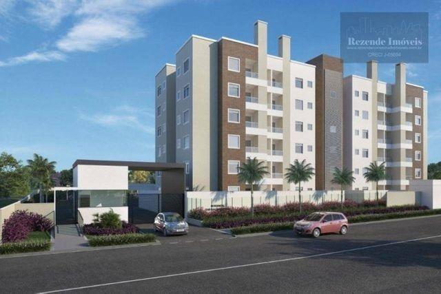 C-AP1645 Apartamento com 2 dorm à venda, 53 m² por R$ 297.900 - Bacacheri - Curitiba/PR