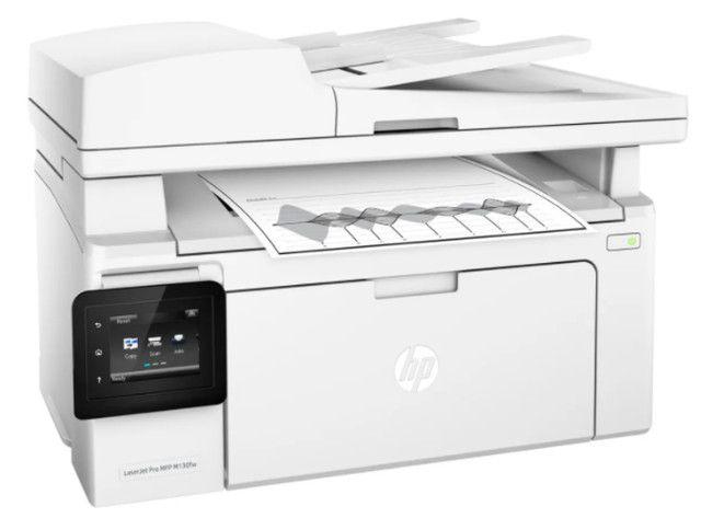 Impressora multifuncional HP LaserJet Pro M132FW com wifi 110V