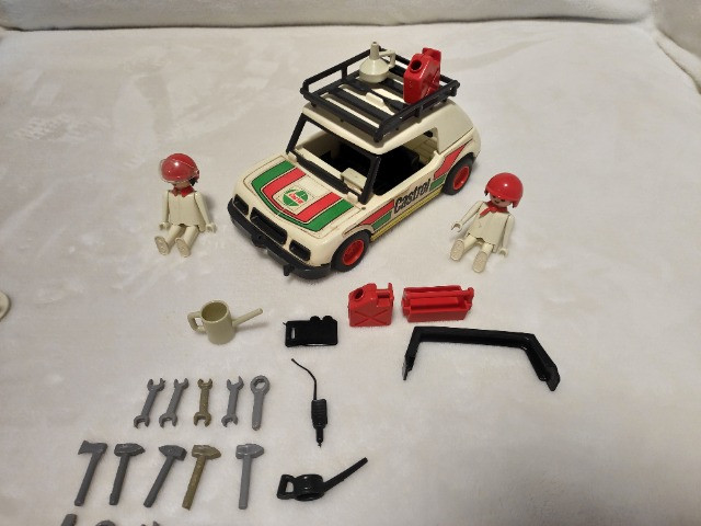 Kit Playmobil Trol Antigos, anos 1970, Caminhão, Carros, Polícia, Ferramentas - Foto 4