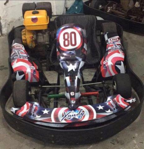 Kart Indoor 13HP chassis metalmoro - Foto 2