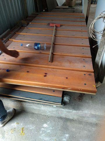 Painel canaletado de madeira 499,00 a peça  - Foto 3