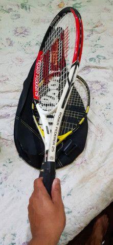 Três raquetes de tênis 350 reais  - Foto 3