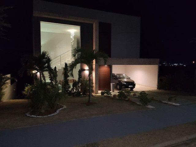 Excelente casa no Alphaville Litoral Norte II - 318 m² - 4/4 sendo 3 suítes - Casa nova - Foto 14