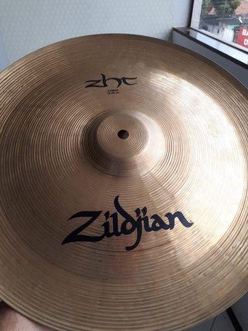 Pratos Bateira Zildjian/ Sabian [Não Compre Sem Antes Ver Esse Anuncio] - Foto 3