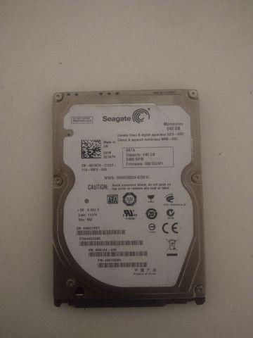 HD Seagate 640gb