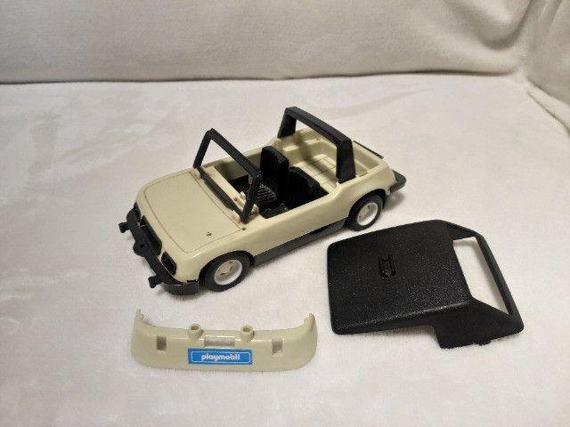 Kit Playmobil Trol Antigos, anos 1970, Caminhão, Carros, Polícia, Ferramentas - Foto 6