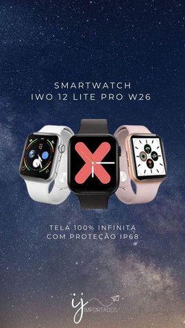 Smartwatch IWO 12 Lite W26 - Tela Infinita - Foto 4