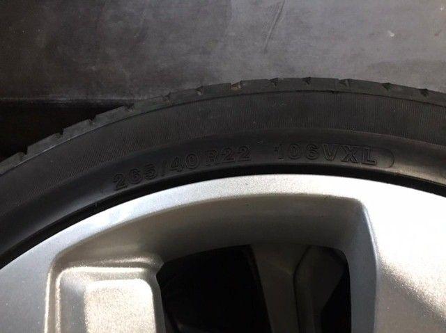 Rodas aro 22 com pneu - Foto 4
