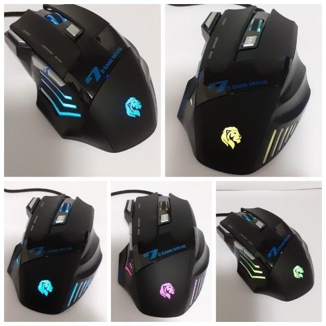 Mouse Gamer Com Fio 3200DPI Hayom MU2909 - Loja Dado Digital - Foto 2