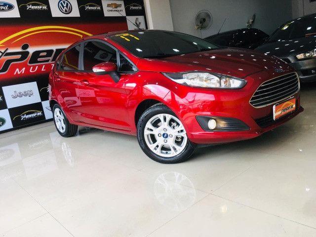 Ford New Fiesta SEL 2017 Flex Unico Dono (IPVA 2021 Pago) - Foto 2
