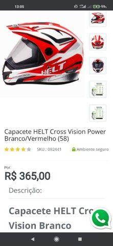 Capacete HELT CROSS VISION POWER 58'