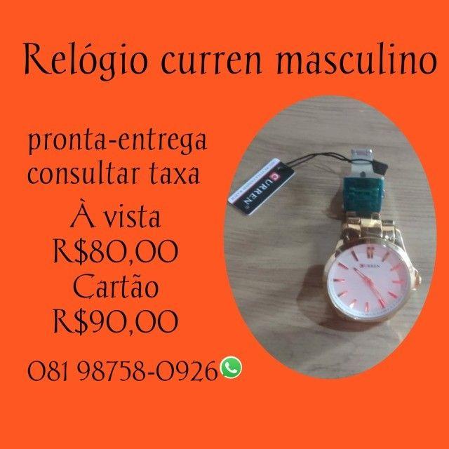 Relógio Curren em promoção!