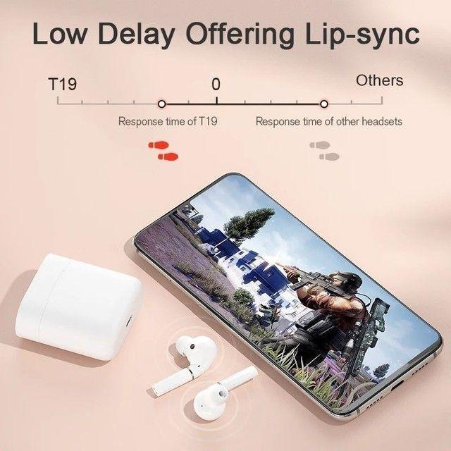 Haylou T19 TWS - Fone Bluetooth 5.0 - aptX - Xiaomi - Android e iOS - Foto 2