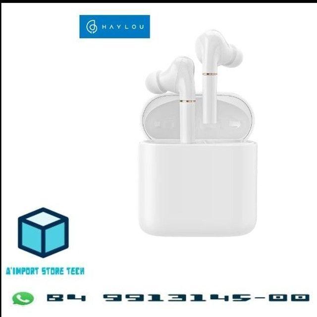 Haylou T19 TWS - Fone Bluetooth 5.0 - aptX - Xiaomi - Android e iOS