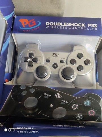 Controle PS3 sem fio  - Foto 2