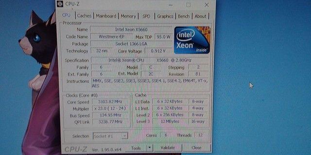 Processador Intel xeon x5660 - Foto 2