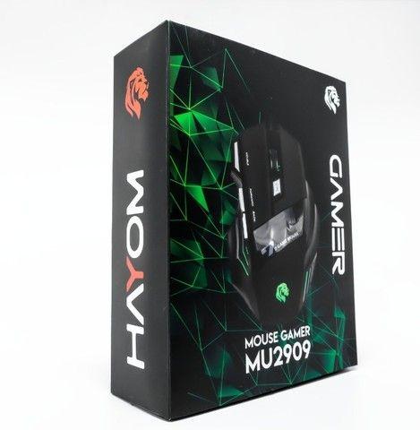 Mouse Gamer Com Fio 3200DPI Hayom MU2909 - Loja Dado Digital