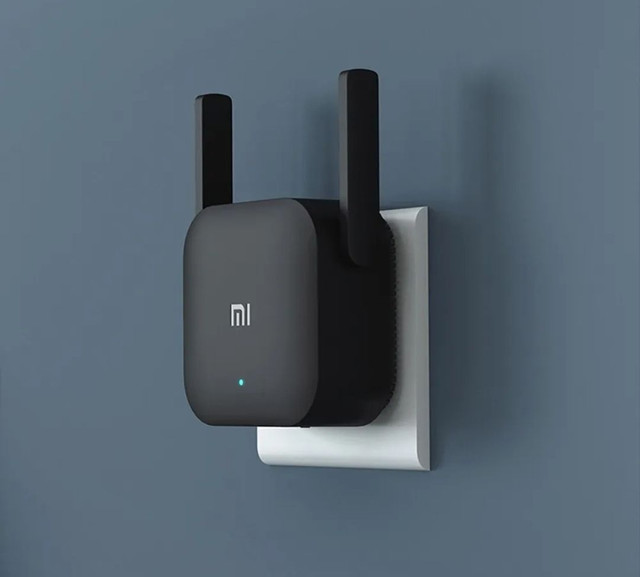 Repetidor Wi-fi Xiaomi Mi Pro Extender 300mbps Sem Fio