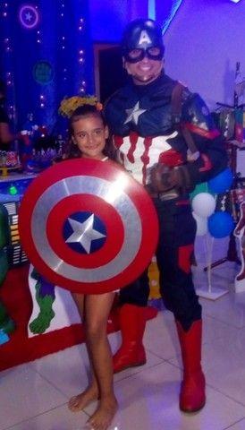 Personagem vivo Capitão América  - Foto 2