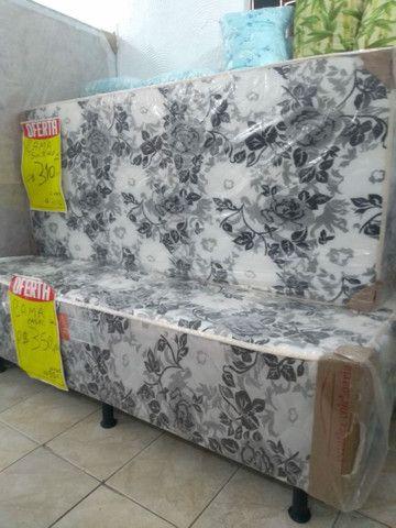 cama casal 290,00 Bicama R$ 280,00  Cama luxo grandona 450,00   ipitanga - Foto 5