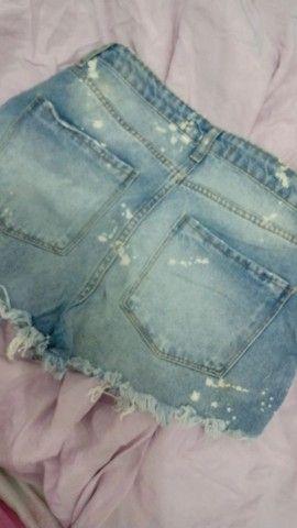 Short Jeans Boyfriend Destroyed - Foto 2