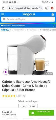 Cafeteria Expresso Arno Nescafé Dolse Gusto - Foto 6