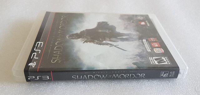 Jogo Shadow of Mordor - PS3 Mídia Física Original (seminovo) - Foto 4