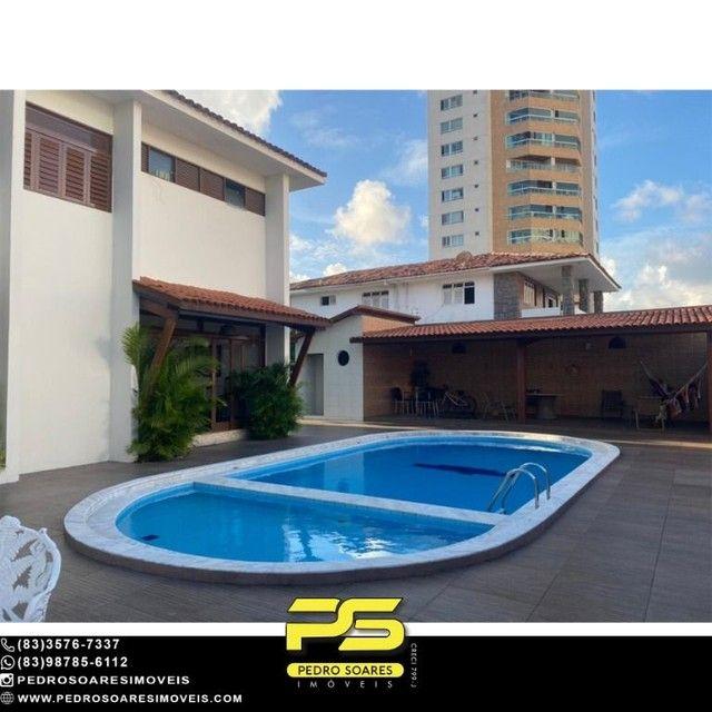 Casa com 5 dormitórios para alugar, 1.120 m² por R$ 16.000/mês - Estados - João Pessoa/PB - Foto 8