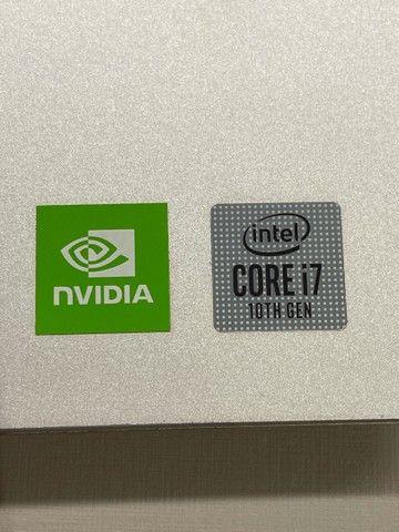 Notebook Dell Inspiron I7 16GB RAM SSD NVIDIA GEFORCE 15.6 Polegadas Novo NF - Foto 4