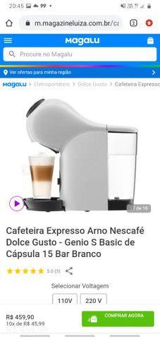 Cafeteria Expresso Arno Nescafé Dolse Gusto