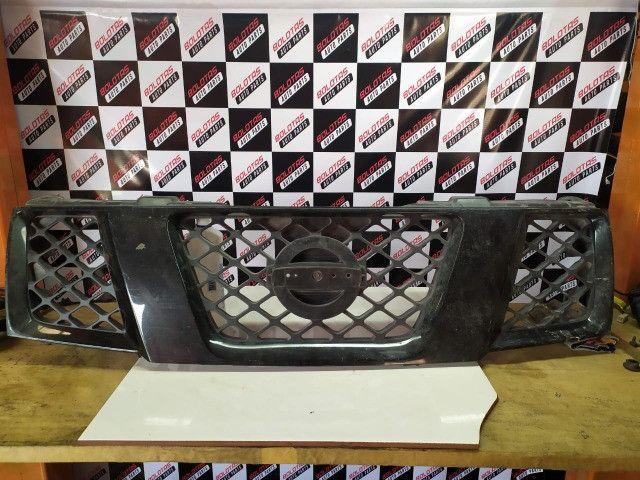 Grade Dianteira Preta Original Nissan Frontier 08/16 *COM Detalhes