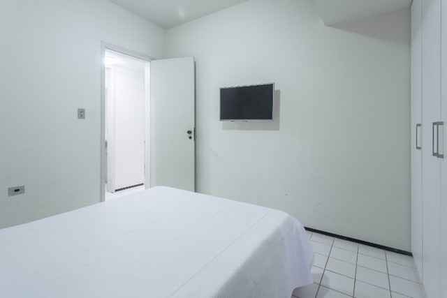 Flat 207 com 1 quarto completíssimo em Boa Viagem - Recife - PE - Foto 6
