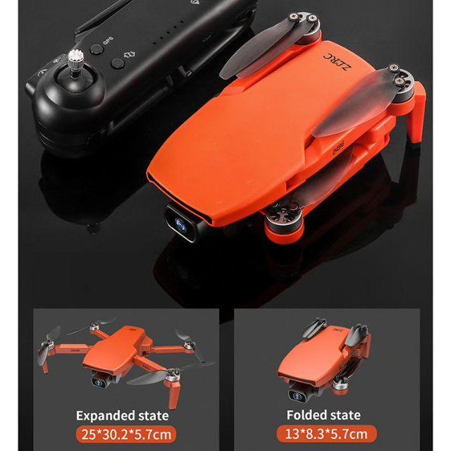 Drone SG108 com duas baterias-cor Laranja- Pronta entrega - Foto 3