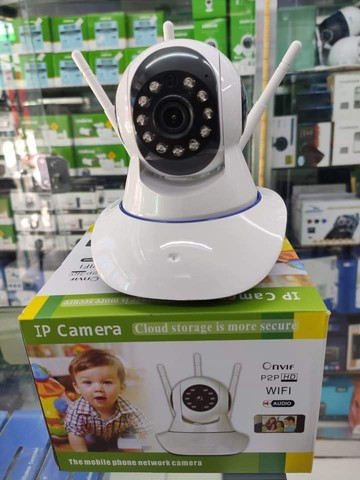 Câmera Robô Wifi Sem Fio HD Entrada Sd - Foto 2