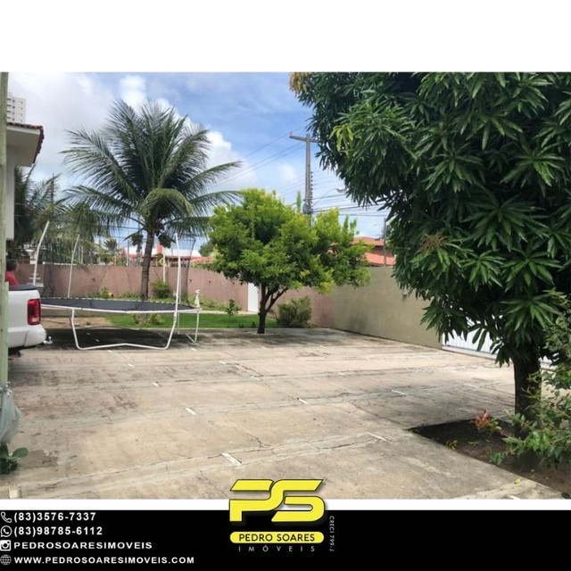Casa com 5 dormitórios para alugar, 1.120 m² por R$ 16.000/mês - Estados - João Pessoa/PB - Foto 2