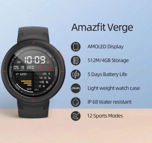 Relógio amazfit verge  - Foto 2
