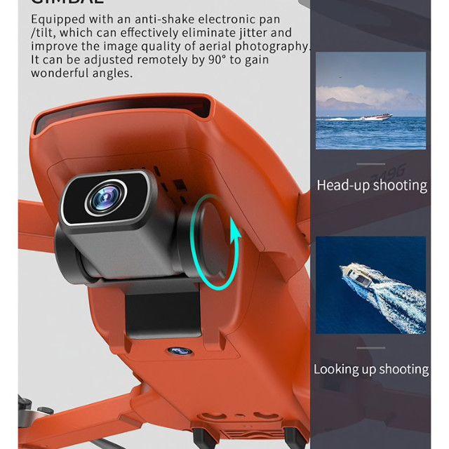 Drone SG108 com duas baterias-cor Laranja- Pronta entrega - Foto 5