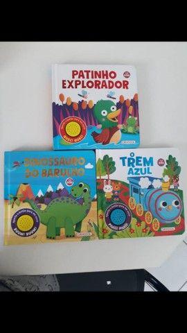 Livros novos capa dura infantil excelente qualidade