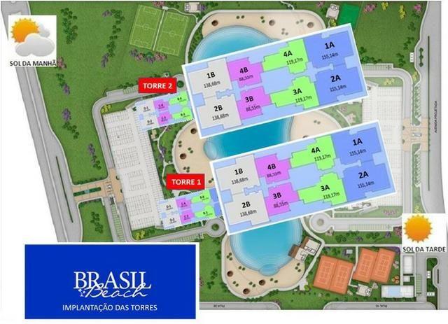 Condomínio Brasil Beach Home Resort A Praia chegou em Cuiabá - Foto 13