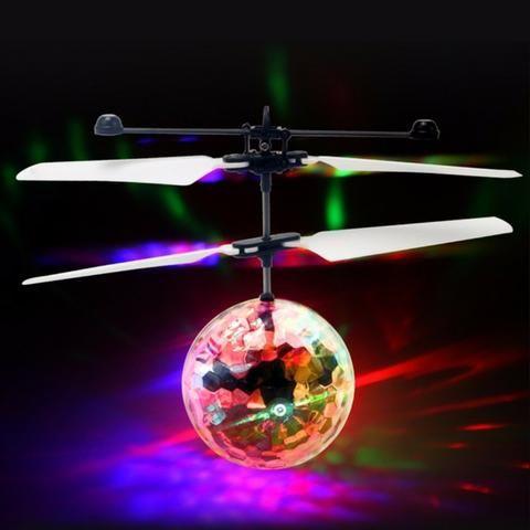 Bolinha Voadora Flying Ball Fly Bola Mini Drone Recarregável